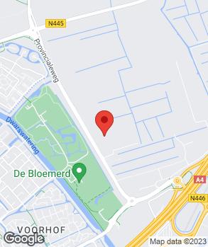 Locatie Driesterrenshowroom op kaart