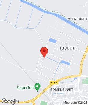 Locatie Vakgarage Isselt Amersfoort op kaart
