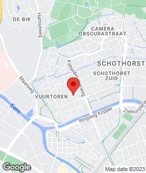 Locatie C & M, Restyling op kaart