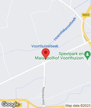 Locatie Autoservice Boersen v.o.f. op kaart