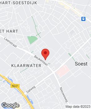 Locatie Garage R. Ruttenberg op kaart
