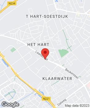 Locatie Autobedrijf Frans Broerze op kaart
