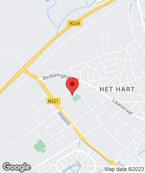 Locatie Autoservice van der Post op kaart
