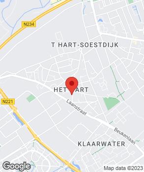 Locatie A3 Autoschadeservice op kaart