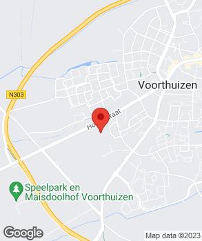 Locatie Auto Versteeg Buurman Voorthuizen B.V. op kaart