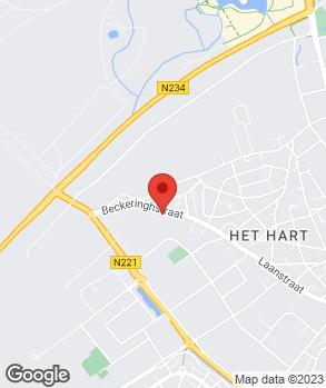 Locatie Autobedrijf Onay op kaart