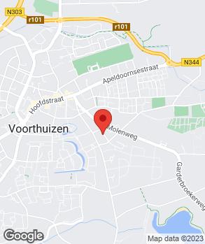 Locatie Middendorp Auto's op kaart