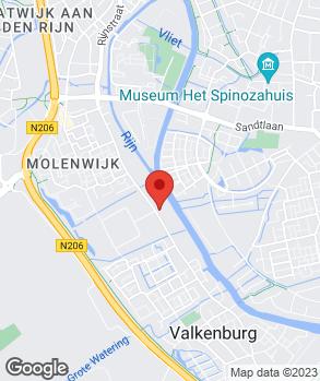 Locatie Garage Rijnzicht B.V. | Vakgarage Rijnzicht op kaart