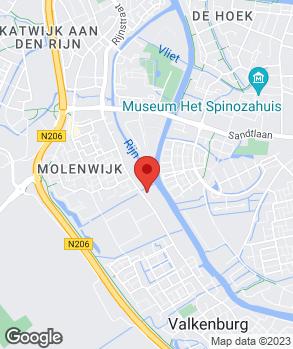 Locatie Autobedrijf Valkenburg op kaart
