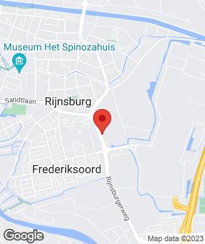 Locatie De Rooij Auto's & Vans B.V. op kaart
