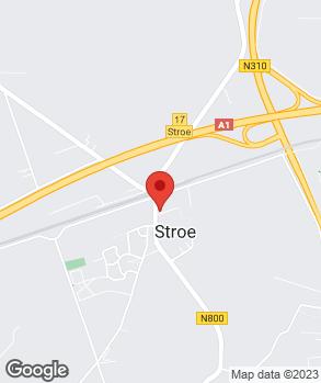 Locatie A. van den Broek op kaart