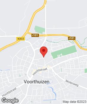 Locatie Automobielbedrijf Van Laar B.V. op kaart