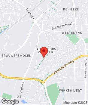 Locatie Autobedrijf van As B.V. op kaart