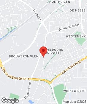 Locatie Auto Plaza Ugchelen op kaart