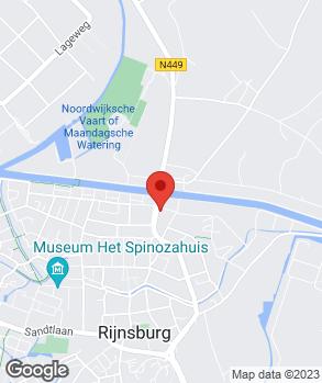 Locatie Handelsonderneming Daan Kromhout op kaart