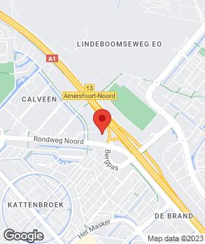 Locatie Lexus Amersfoort op kaart