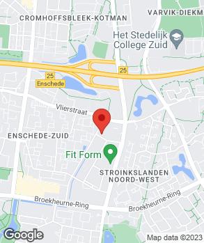 Locatie Autobedrijf Jan Ruinemans B.V. op kaart