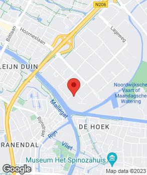 Locatie Wassenaar Auto's B.V. op kaart