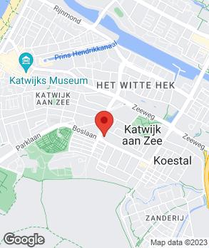 Locatie V.B. Auto's op kaart