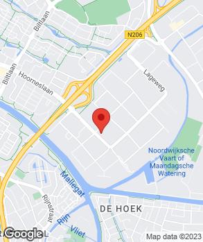 Locatie Autohaag Zeeuw Katwijk op kaart