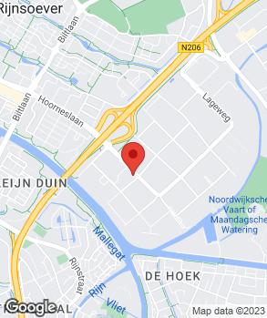 Locatie Automeer Katwijk B.V. op kaart