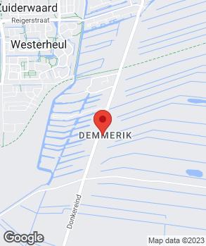 Locatie W. Oudshoorn op kaart