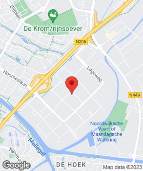 Locatie Autobedrijf Van der Gugten op kaart