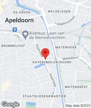 Locatie Hofman Auto's op kaart
