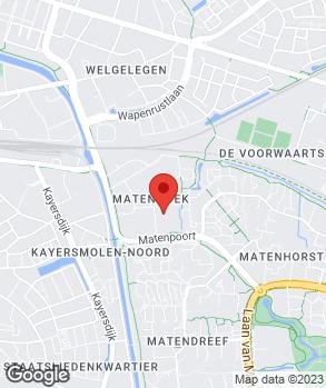 Locatie Automobielbedrijf Van der Zande B.V. op kaart