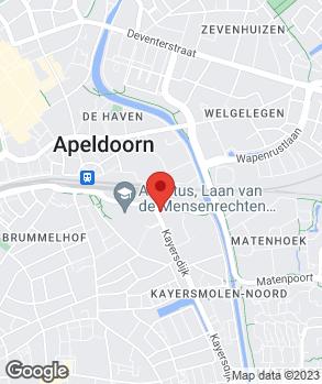 Locatie Autoschadebedrijf Arie Tamboer op kaart