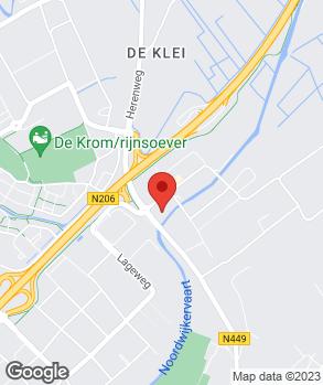 Locatie Louwman Noordwijk op kaart