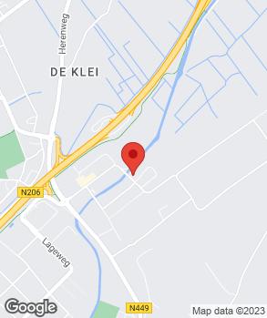 Locatie Garagebedrijf Maessloot op kaart