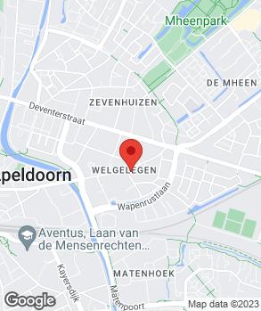 Locatie H.P.A. de Bliek op kaart