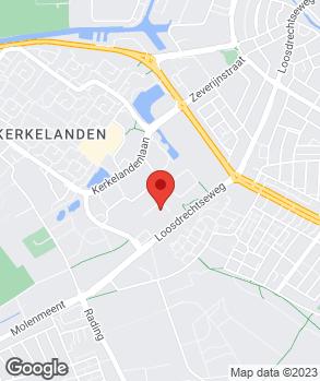 Locatie Autobedrijf Kreijne Hilversum op kaart