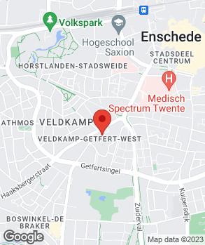 Locatie Broekhuis Enschede B.V. op kaart