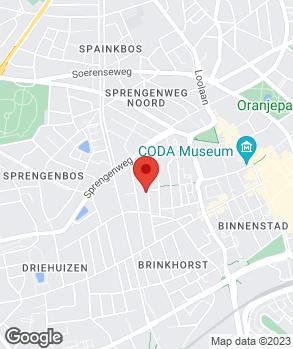 Locatie E.Treep Garagebedrijf/Autoverhuur op kaart