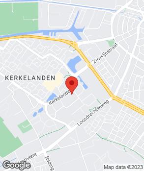 Locatie Pon Dealer Hilversum op kaart