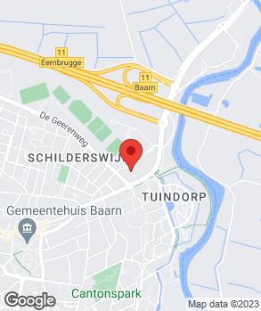 Locatie J. Limper Autoservice op kaart