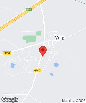 Locatie Scherling Auto's Wilp B.V. op kaart