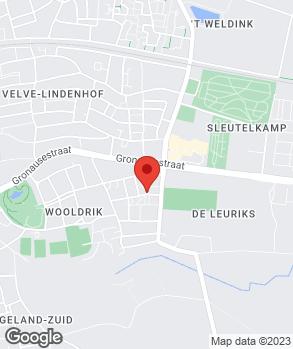 Locatie W.G.B. Kloppenburg op kaart