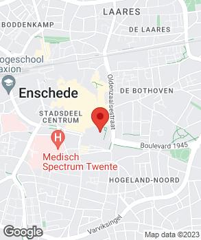 Locatie Elzinga Auto's op kaart