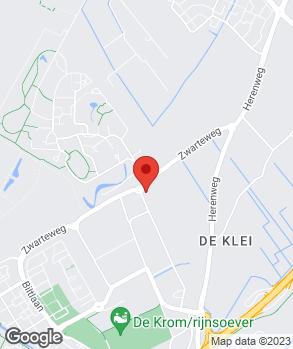 Locatie Ford dealer Ardea Auto Noordwijk op kaart