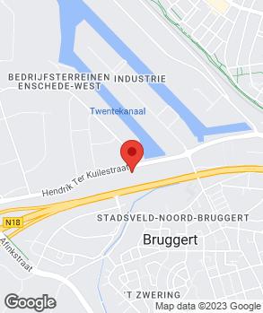 Locatie Automobielbedrijf Ruesink Enschede B.V. op kaart