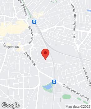 Locatie Garagebedrijf van Lubek op kaart