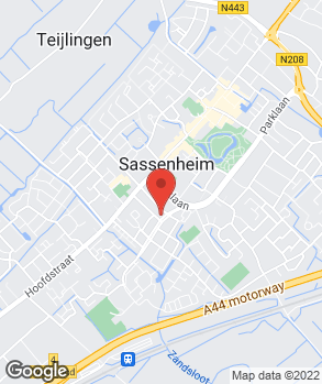 Locatie Garage Van der Zwan op kaart