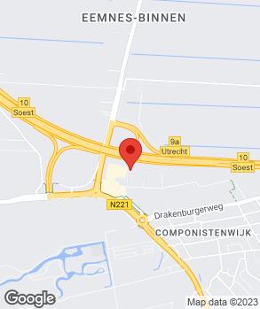 Locatie A. van de Meeberg op kaart