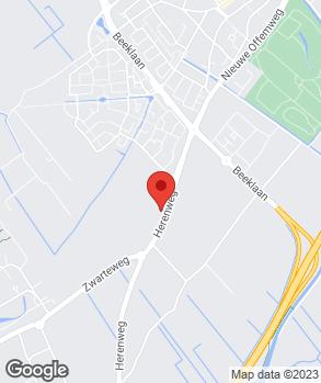 Locatie Autobedrijf Hoogeveen op kaart