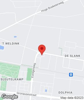 Locatie ABS Dick Bösing op kaart