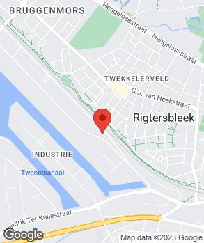 Locatie Restauratiebedrijf Van der Grinten op kaart