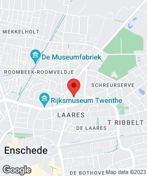 Locatie J.B. de Jong op kaart